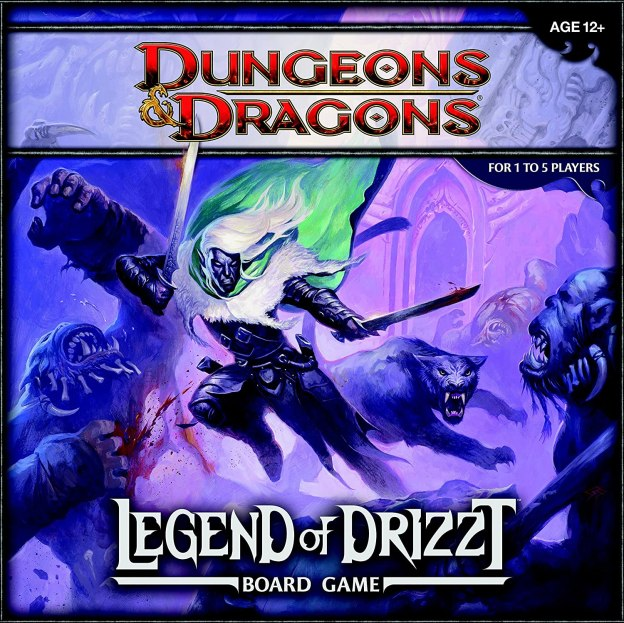 Dungeons & Dragons The leyend of Drizzt Juego de mesa